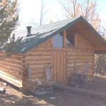 Guest-cabin at the Main Lodge